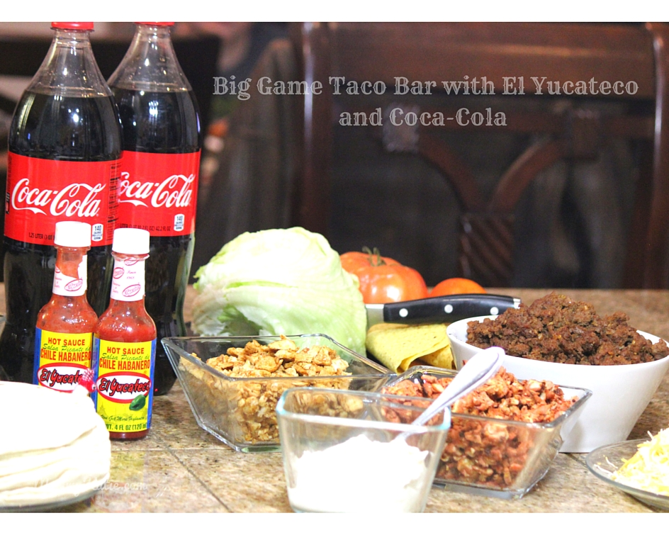 0d8d55f0252c Big Game Taco Bar with El Yucateco and Coca-Cola