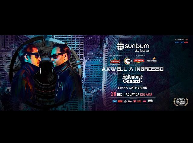 Ingrosso & Axwell In Sunburn Kolkata 2018