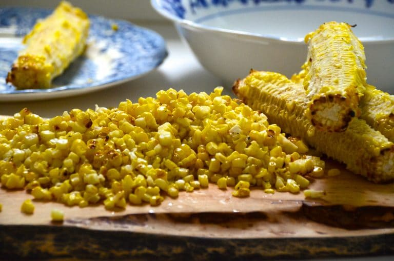 Corn with cobs