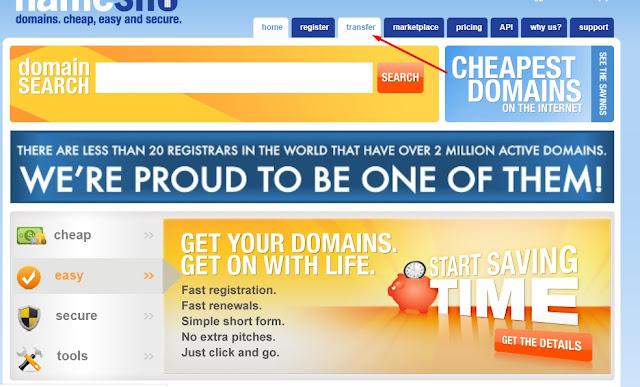 transfer-domain-namesilo