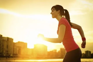 Menurunkan Berat Badan dengan Lari Siang