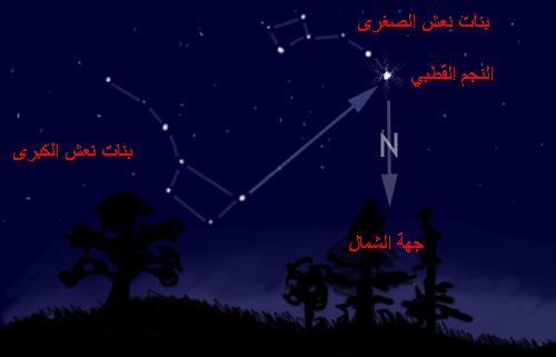 النجم القطبي :