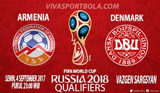 Prediksi Armenia vs Denmark 4 September 2017