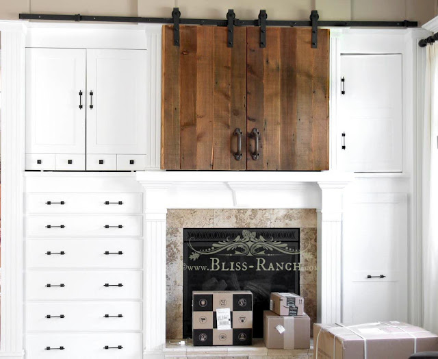 Barn Door Television Cover Bliss-Ranch.com