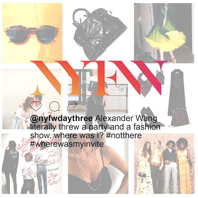 New York Fashion Week Day Three Instagram