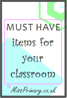 Must have items for primary school teacher classrooms