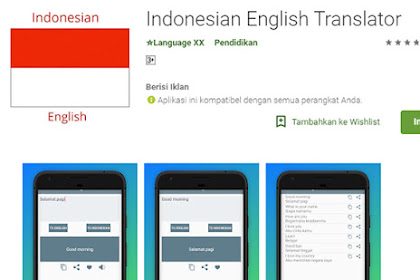 Belajar Bahasa Inggris Semakin Mudah dengan Bantuan aplikasi Kamus Bahasa Inggris