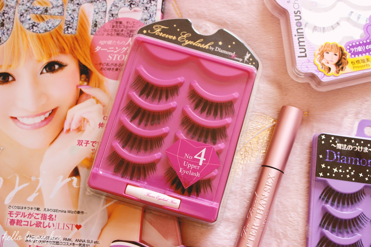 forever eyelash by diamond lash