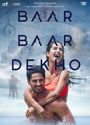 Poster Of Hindi Movie Baar Baar Dekho 2016 Full HD Movie Free Download Watch Online
