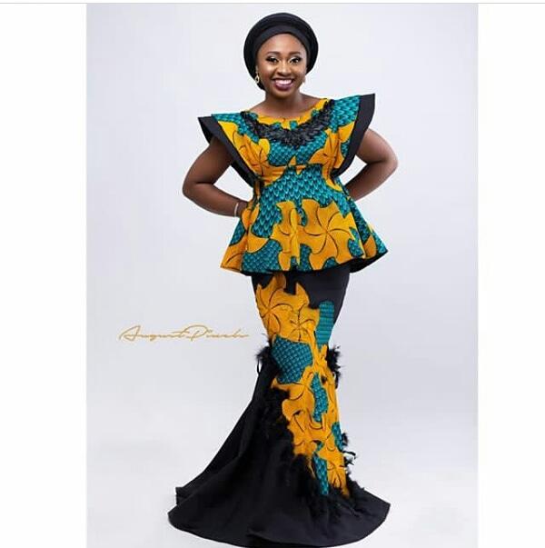 61895ca945128 30 super stylish african fashion designs   peplum ankara skirt and blouse  styles 2018 -