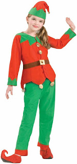 Simply Elf Holiday Costume Child