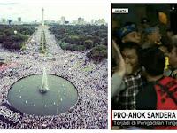 Memalukan, Jutaan Massa Bela Islam Bisa Tertib, Massa Ahoker 'Seupil' Tapi Rusuhnya Bukan Main
