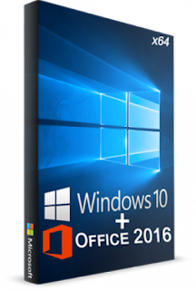 Windows 10 Pro Final incl Microsoft Office 2016 JANEIRO 2017