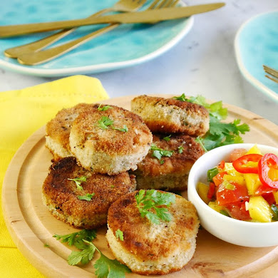 Recette Apéro: Mini Croquettes au Thon et Salsa à la Mangue