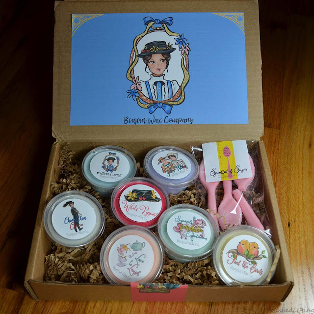 Mary Poppins themed wax melts