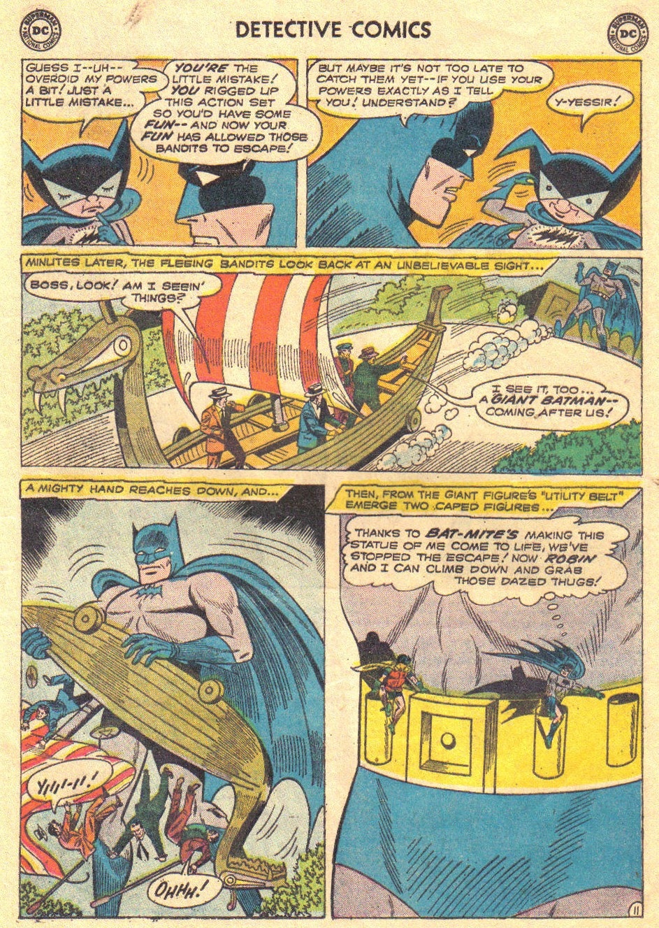 Read online Detective Comics (1937) comic -  Issue #267 - 13