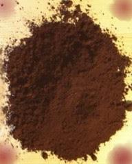 elaborar pigmento marrón