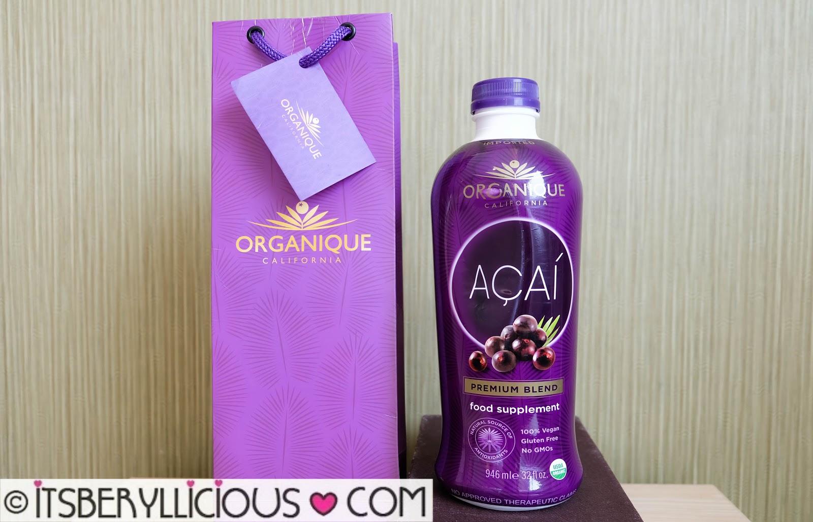 how to drink acai juice