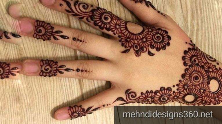 Simple Mehndi Designs Photos Latest Mehndi Designs