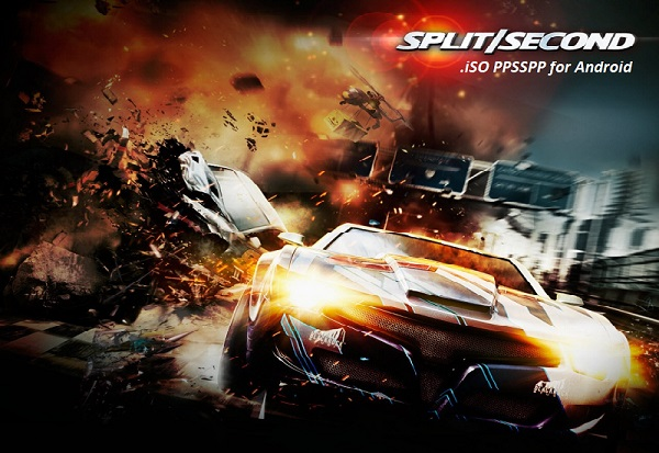Download Split Second iSO PPSSPP for Android GamePlay