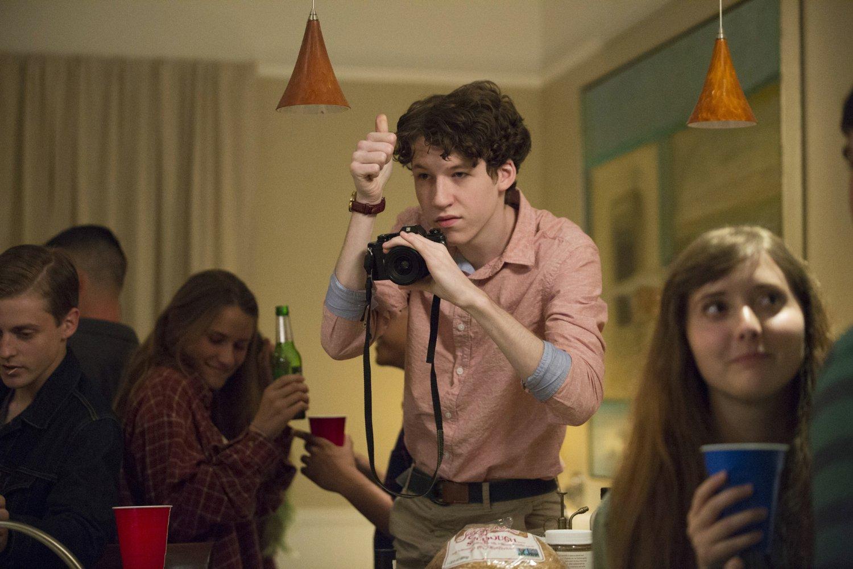 Devin Druid, Tyler, en una escena de la serie de Netflix '13 reasons why'