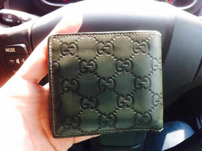 b27dc076581a Truly Vintage: Authentic Guccissima Men's Wallet