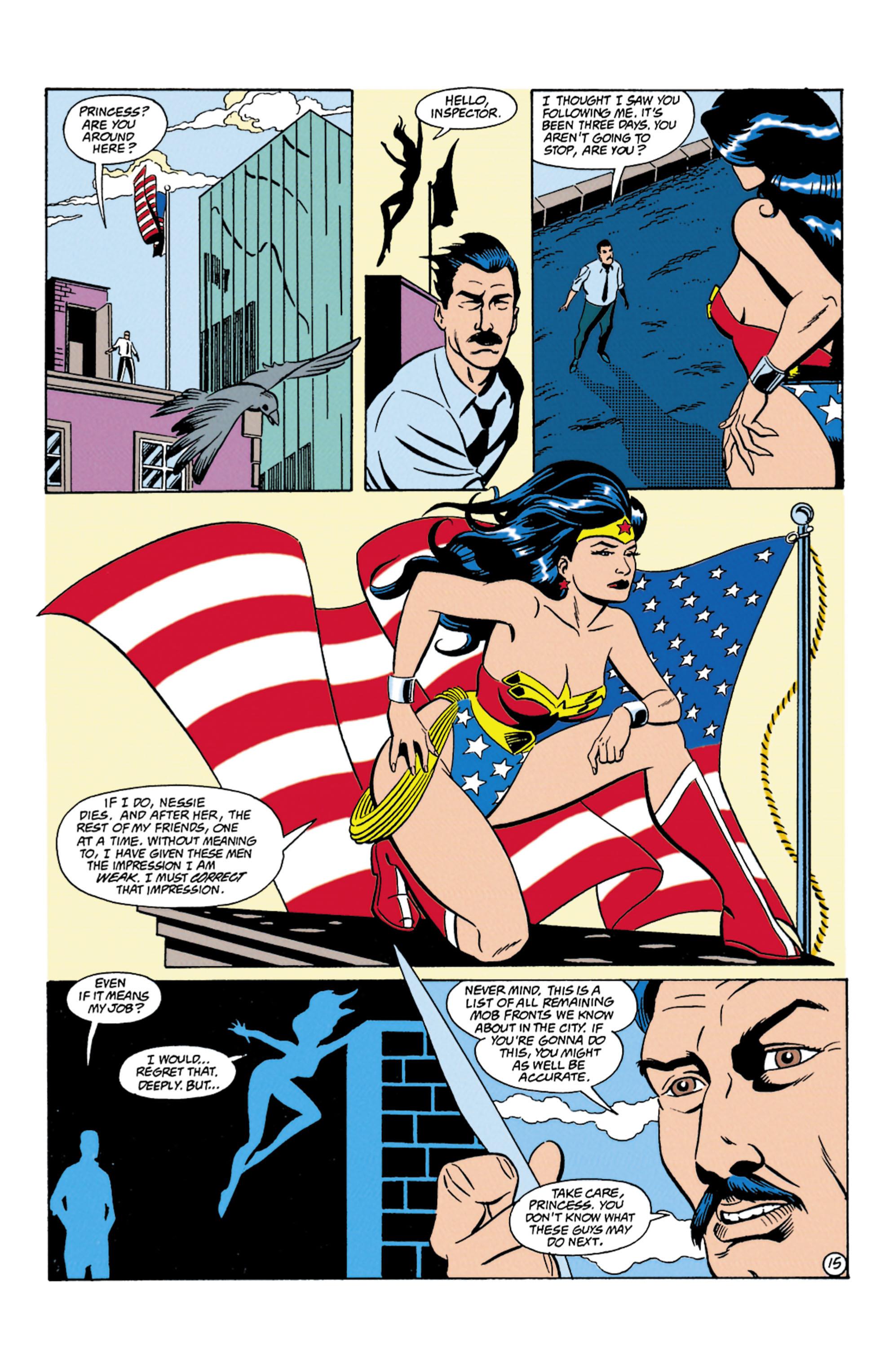Read online Wonder Woman (1987) comic -  Issue #87 - 16