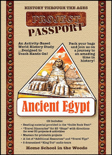 Ancient Egypt World History Study from Home School in the Woods