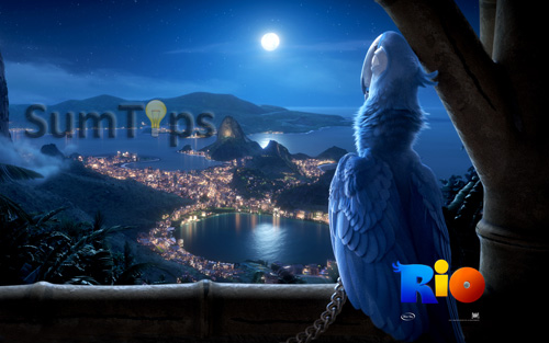 Rio Movie Theme for Windows 7