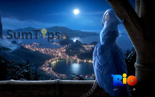 Rio Movie Theme for Windows 7