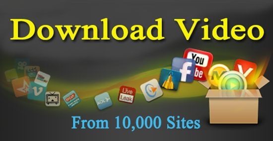 download video from 10000 sites