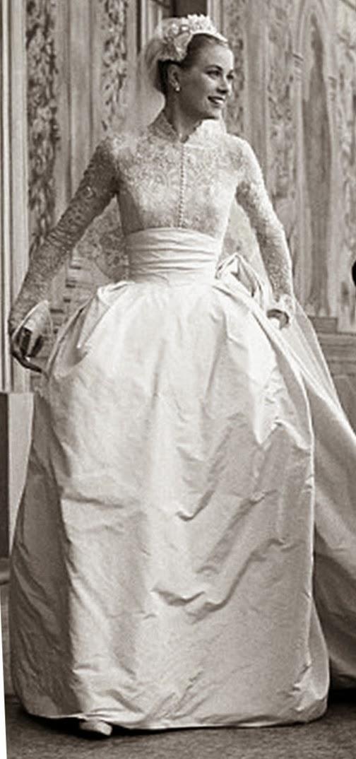 La elegancia del vestido de Grace Kelly   Velodevainilla.com