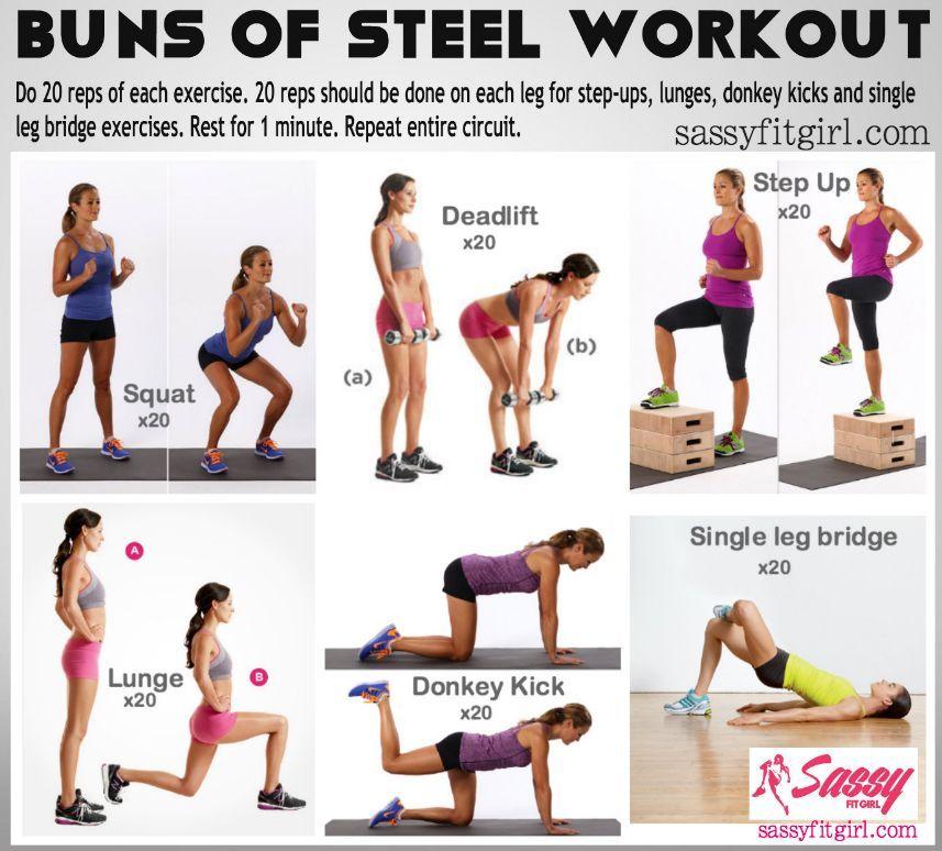 mejores ejercicios para gluteos gym