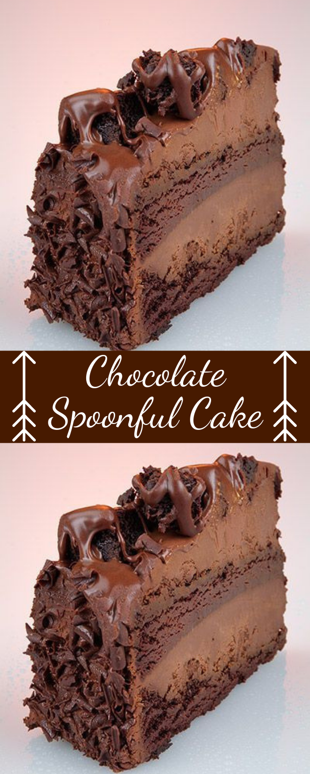Chocolate Spoonful Cake #dessert #chocolate