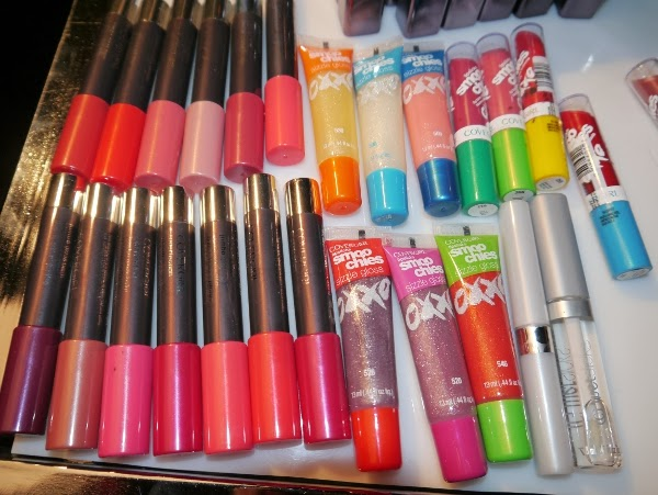 Cover Girl lip products