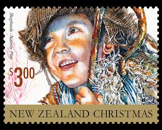 Nueva Zelanda - Navidad 2014 - Valor 3.00 NZD - Engomado