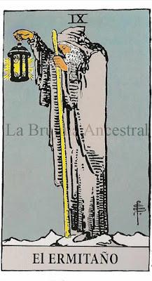 Tarot de Rider Waite: El Ermitaño