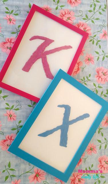 silicon letters, γράμματα από σιλικόνη, παιδικό δωμάτιο