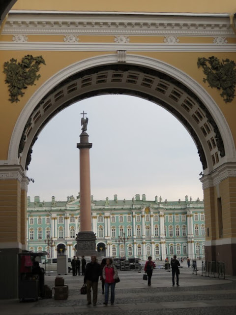 Arco do Triunfo - Praça do Palácio - St. Petersburg