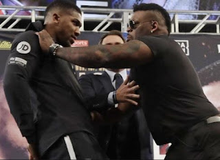 Davido, Don Jazzy, Tunde Ednut & Other Angry Nigerians Storm Jarrel Miller's IG Page To Drag Him For Violently Pushing Anthony Joshua