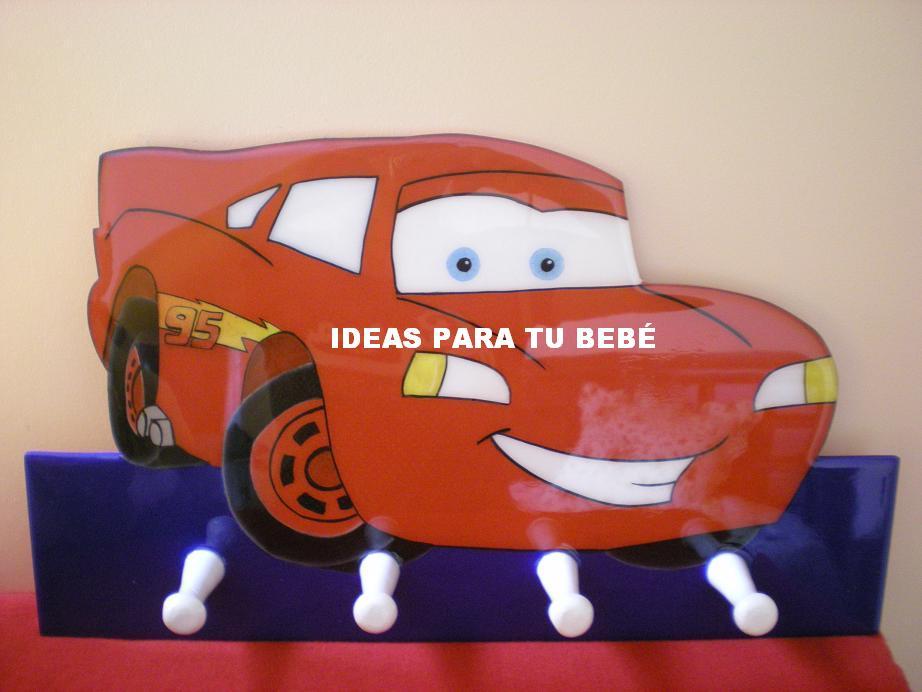 Percheros infantiles percheroy letreros cars - Perchero infantil pared ...