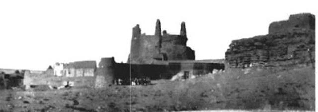 الجوف قصر مارد في دومة الجندل 1922م