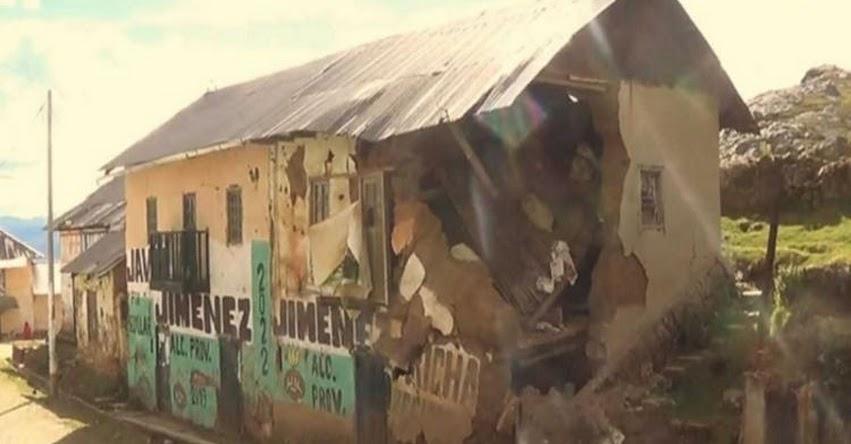 Más de 80 viviendas y colegios afectados en dos provincias de Pasco, según informe del COER