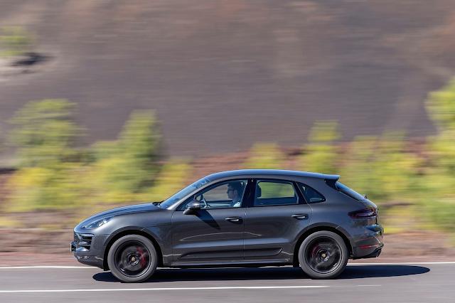 2017 Porsche Macan GTS grey