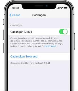 Cara backup iphone via iTunes