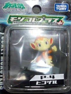 Chimchar Pokemon Figure Takara Tomy Monster Collection MC+ series