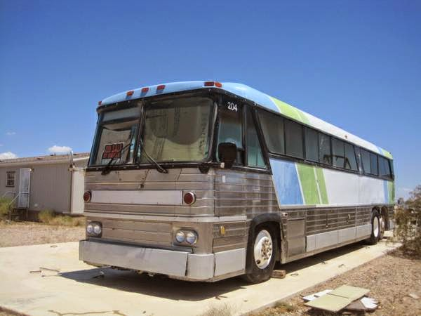 Used rvs 1976 tmc bus motor coach mc 8 crusader for sale for Used motor coach buses for sale