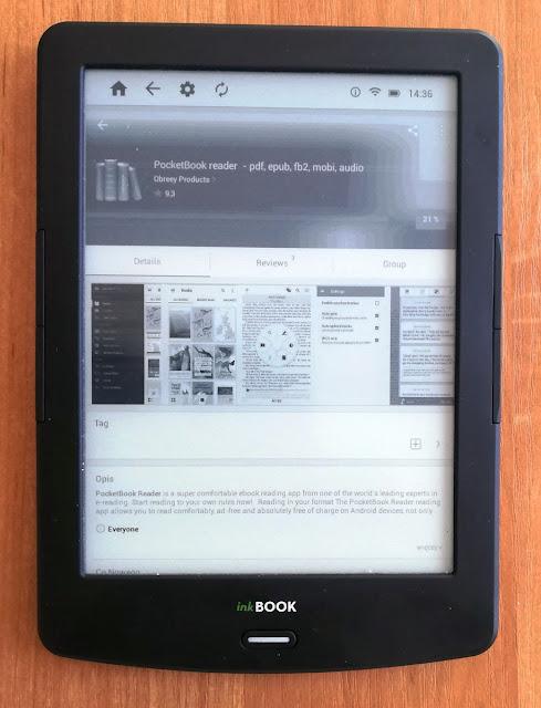 PocketBook Reader na apkpure.com
