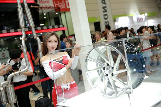 2 Mina -  Seoul Auto Salon - very cute asian girl-girlcute4u.blogspot.com