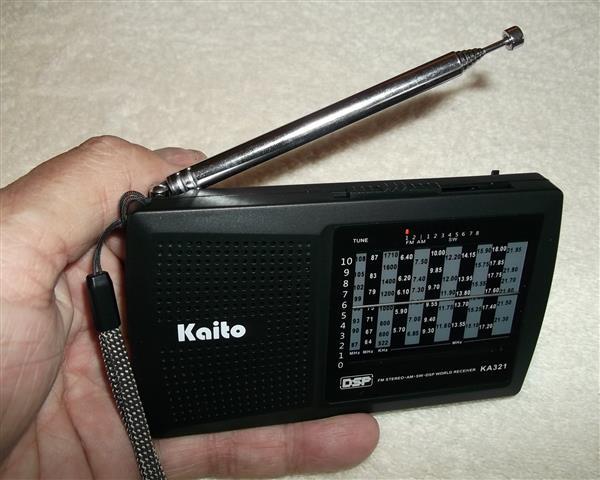 RADIO-TIMETRAVELLER: Review Of The Kaito KA321 DSP Receiver